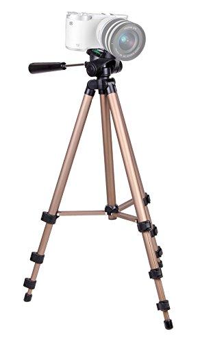 DURAGADGETマルチ機能アルミニウム調節可能な三脚内蔵スピリットレベル付きfor Samsung nx300コンパクトシステムカメラwith 20   50 mmレンズ   ブラックホワイト( 20 3 MP CMOSセンサー) 3 3インチAMOLED & Pentax K 50 DSLRカメラwith DAL 18   55 mm WRレンズキット   ホワイト( 16mp CMOS APS Cサイズセンサー) 3インチLCD