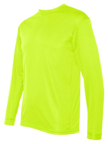 C2 Sport - Long Sleeve Performance T-Shirt. 5104 - Safety Yellow - - C2 Yellow