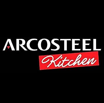 Arcosteel Caja de Bento del almuerzo del acero inoxidable para la comida caliente 1L Azul