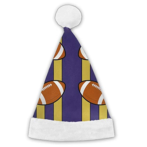 LFPJSH Baltimore Ravens Fabric (1623) Santa Hat for Child and -