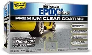 Epoxyshield Premium Clear Coating Kit, Clear Gloss, Solvent Like, 1.104 SG, 7 deg C Flash Point, 50 g/l VOC