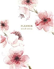 Planner 2018-2019: Floral 2018-2019 Planner   18-Month Weekly View Planner   To-Do Lists + Motivational Quotes   Jul 18-Dec 19