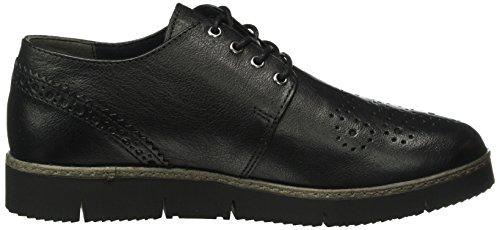 Marco Zapatos Cordones 002 Black Para 23708 Premio Negro Tozzi Derby Antic de Mujer nUxXBUwrZ