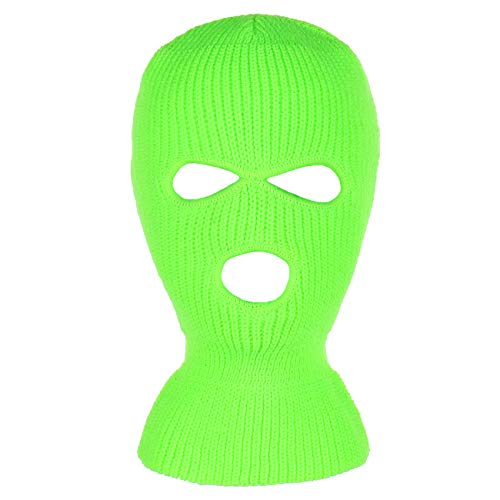 affordable Knitted 3-Hole Full Face Cover Ski Mask