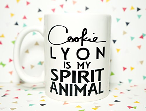 COOKIE LYON IS MY SPIRIT ANIMAL Coffee Mug, 11 OZ COFFEE MUG. EMPIRE MUG Gift for Her | Coffee Lover | Coffee | Personalized | LYON EMPIRE | Spirit Animal