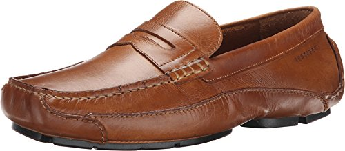 Rockport Men's Luxury Cruise Penny Tan Loafer 10 M (D)