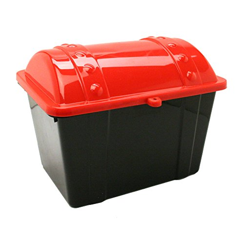 U.S. Toy Treasure Chest/Red-Black