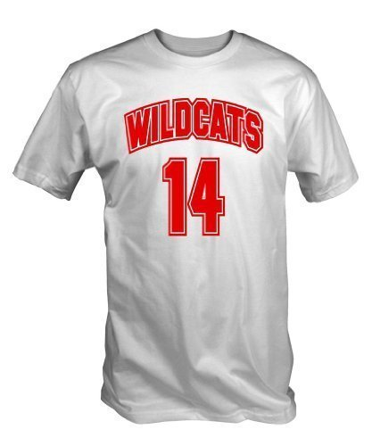 Blanco S - XXL 6 TEE NINERS Wildcats 14 Camiseta
