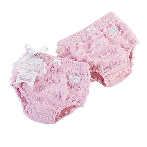 Baby Aspen Baby-Girls Newborn Little Princess Bloomer, Pink, Small