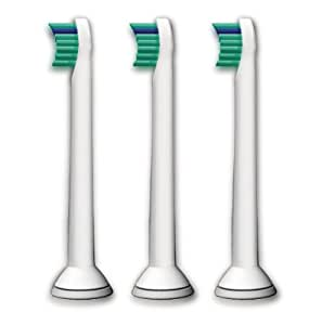 Philips Sonicare ProResults Toothbrush Compact Brush Heads, 3 Count