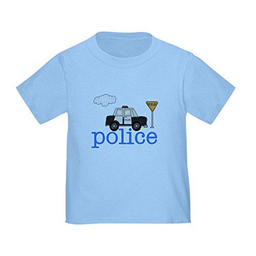 CafePress Police Toddler T Shirt Cotton