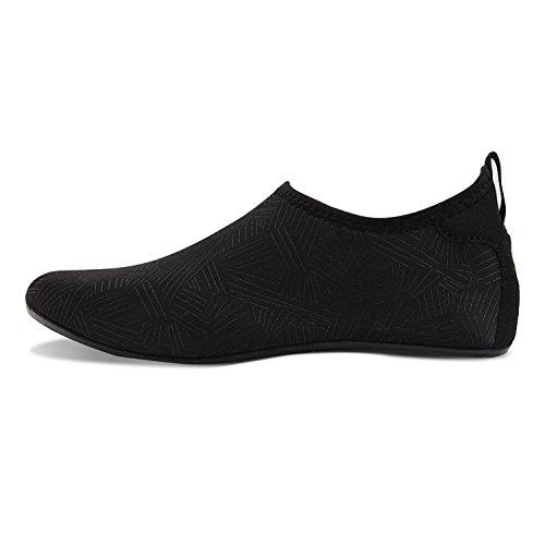 Plonge Jh Nus Pieds Schage black marine Pour Plage Aux Aqua D'eau Femmes Rapide Chaussettes Spotrs Sous Yoga Snorkeling Surf Chaussures De Natation Hommes q1t0w7xx