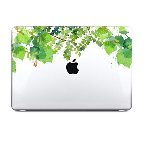 Batianda Tropical Plants Green Grass Floral Design Protective Hard Case Cover with Keyboard Skin for MacBook Air 13-Inch Model Number: A1369/A1466 by Batianda (Image #2)