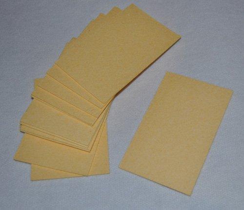 Beige Compressed Sponge Sheets- Pack of 12 by Sponge Producers