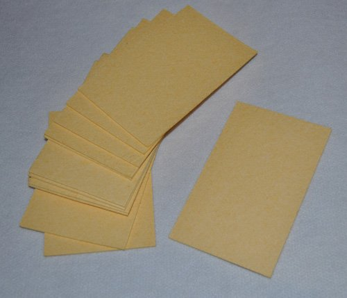 Beige Compressed Sponge Sheets- Pack of 12
