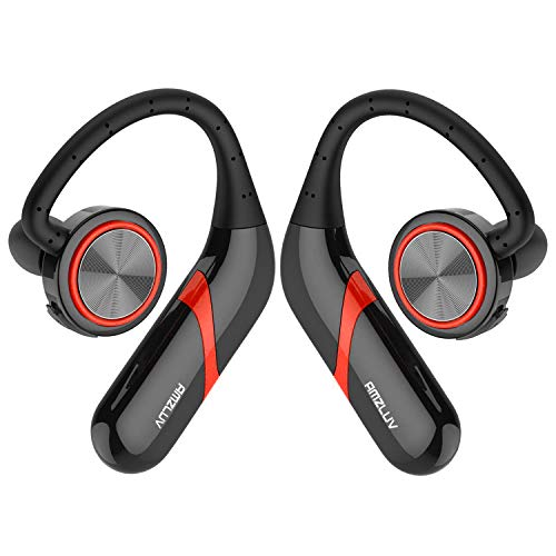 Wireless Earbuds,AMZLUV IPX7 Wireless Headphones, 10 Hr Playtime Bluetooth Headphones with Built-in Mic,Premium Sound with Deep Bass Bluetooth Headset for Gym Running Sport
