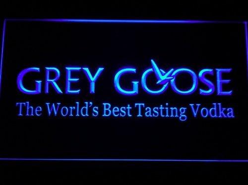 Grey Goose LED Caracteres Publicidad Neon Cartel Azul ...