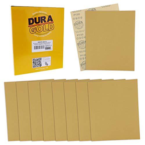 10 Lijas Dura-Gold 23cm x 28cm Grano 150