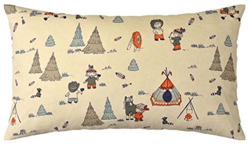 JinStyles Nursery Cotton Canvas Lumbar Decorative Throw