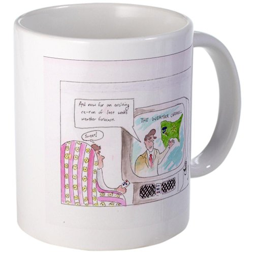 CafePress - Weather Channel Re-runs Mug - Unique Coffee Mug, 11oz Coffee Cup (Channel Coffee Cup compare prices)