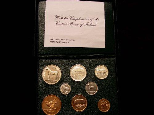 Irish Coin Set - Ireland Coin Set 1928 w/ Green Display Box