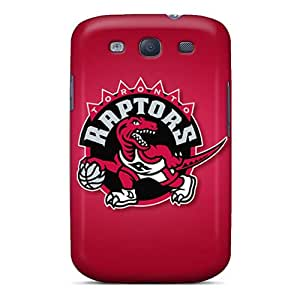Sanp On Case Cover Protector For Galaxy S3 (toronto Raptors)
