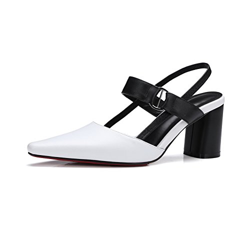 BalaMasa Sandales Compensées Femme Blanc ma1A2Hkp