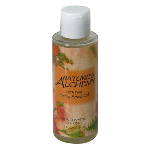 Natures Alchemy Hemp (Nature's Alchemy Hemp Seed Oil, 100% Pure, 4 fl oz (118 ml) (Pack of)