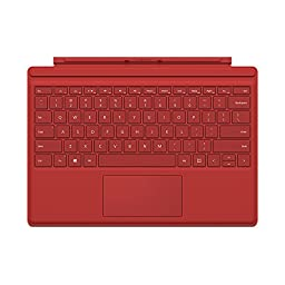 Microsoft Type Cover for Surface Pro 4 - Red (QC7-00005)