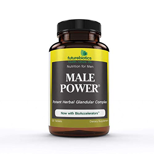 Futurebiotics Male Power Nutrition for Men, 120 Vegetarian Tablets (Male Tabs 120 Power)