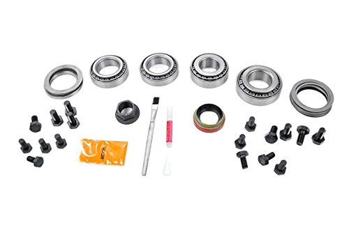Rough Country - 535000335 - Dana 35 Ring & Pinion Gear Set Master Install Kit (Wrangler YJ/TJ) for Jeep: 84-01 Cherokee XJ 4WD, 86-92 Comanche MJ 4WD, 99-04 Grand Cherokee WJ 4WD, 93-98 Grand Che. (Ring Gear Pinion)