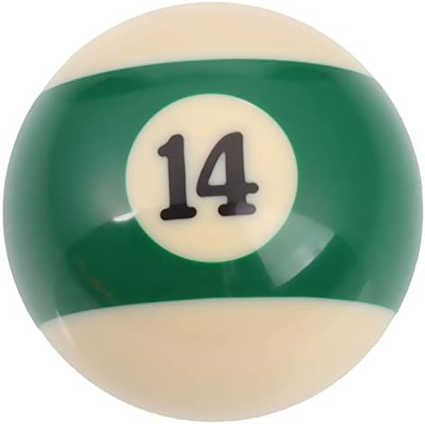 Mzamzi Gran valor bolas de billar número 14 billar bola: Amazon.es ...