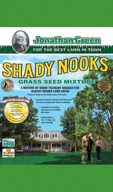 Jonathan Green Shady Nooks Grass Seed, 3-Pound by Jonathan Green
