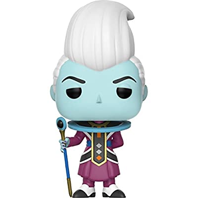 Funko Pop! Anime: Dragon Ball Super - Whis Vinyl Figure (Bundled with Pop Box Protector CASE): Toys & Games