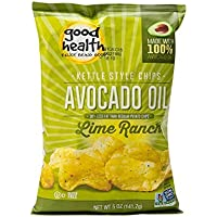 Good Health Kettle Avocado Oil Potato Chips Lime Ranch, 141.7g, Packaging may vary