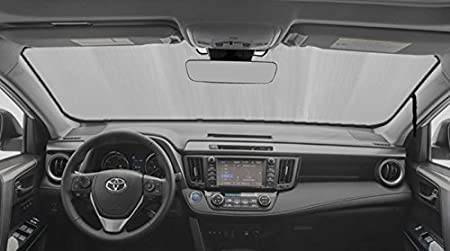 AutoTech Zone Sun Shade for 2006-2012 Toyota RAV 4 SUV Custom-fit Windshield Sun Shade