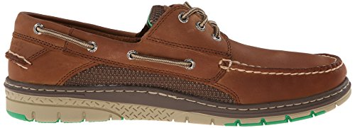 Sperry Top-sider Mens Billfish Ultralite 3 Eye Slip On Loafer Dark Tan 10 5 M Us Tan