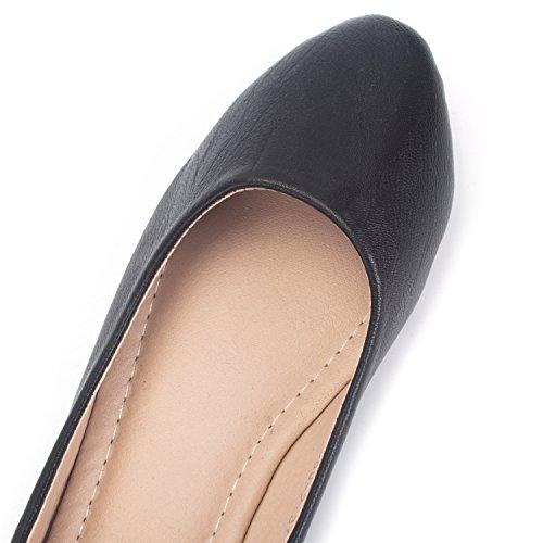 Sur uk Enceinte Occasionnels Confort Chaussures Femme 4 Bureau Glissement Noir De Plates De Mocassin Florata Pompes Les Chaussures Taille 6 De Chaussures 5 x4ZYq0ZU