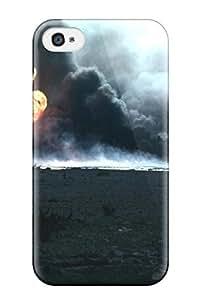 Brenda Baldwin Burton's Shop Defender Case For Iphone 4/4s, Soldiers Military Pattern 9775620K84467264