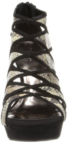 by Carlos Women's Carlos Black Santana Snake Strata Dress ppRSrnH
