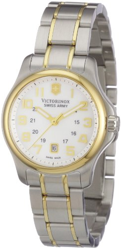 Victorinox Swiss Army Women's 241459 Officers XS Two-Tone Mother-Of-Pearl Dial Watch