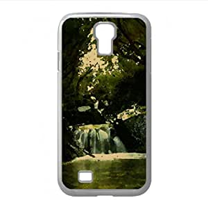 Creek Watercolor style Cover Samsung Galaxy S4 I9500 Case (Waterfalls Watercolor style Cover Samsung Galaxy S4 I9500 Case)