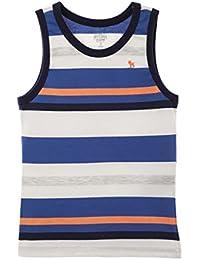 Big Boy Sleeveless Multi Colored Tank Tops | Camisetas Sin mangas Niños