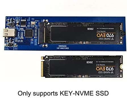 alftek Caja de Disco Duro SSD M.2 a USB Tipo C 3.1 nvme NGFF PCIe ...