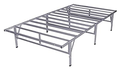 Sleep Master Do-It-Yourself Smart Platform Metal Bed Frame