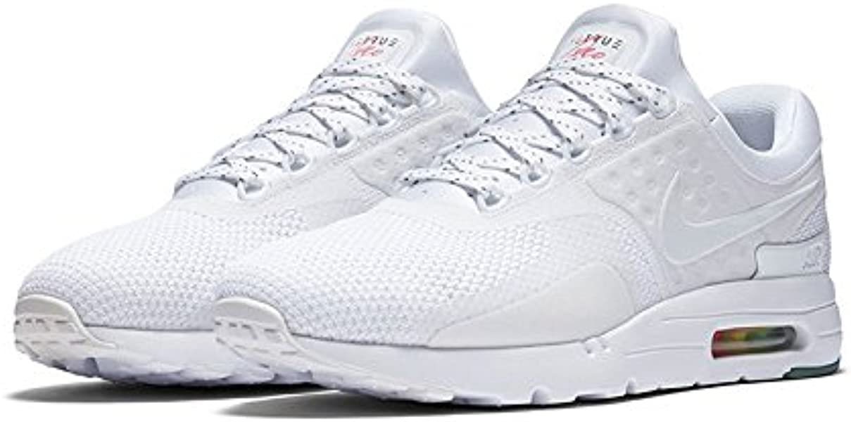 super popular 62893 ecd96 Amazon.com | NIKE Air Max Zero 0 QS Be True AM Day White New ...
