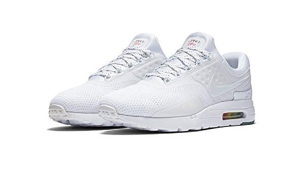a732ae9f06 Amazon.com | NIKE Air Max Zero 0 QS Be True AM Day White New Mens Size 12.5  [789695-101] | Fashion Sneakers