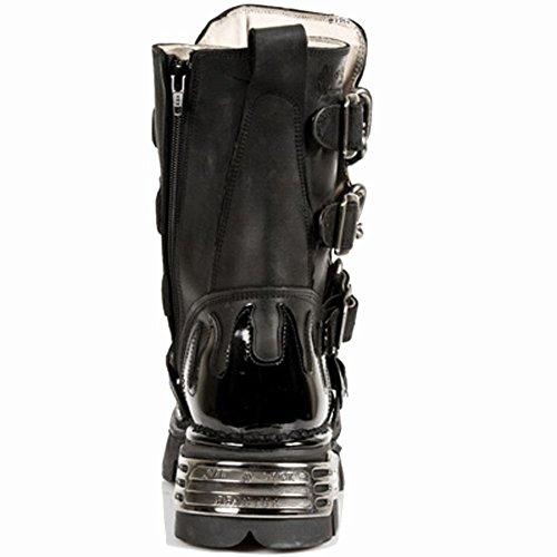 Metallic 48 727 Ready New Women Size Rock Black Stock M Mpx Men Leather S1 naR0ORqwp