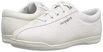 Easy Spirit Ap1 Sport Walking Shoe, White Leather, 5 M 5