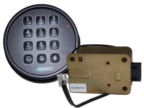ESL10XL Electronic Keypad and Lock - Black Finish